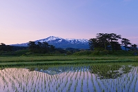 秋田県 象潟と鳥海山