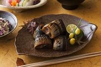 秋刀魚の幽庵焼きと割烹料理