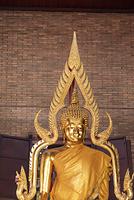 ワットヤイチャイモンコン 仏像 アユタヤ タイ