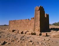 スーダン ナカ遺跡 ライオン神殿