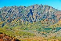 長野県 瑪瑙山から戸隠高原と戸隠山