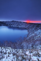 北海道 摩周湖の日の出