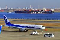 東京都 羽田空港 ANAボーイング767