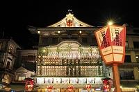 京都府 南座のまねき