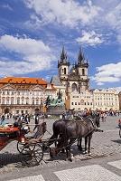 チェコ プラハ ティーン教会