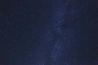 北海道 真夏の夜空