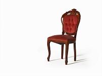赤いベルベットの椅子