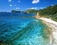 東京都 小笠原父島・ジョンビーチの海