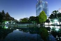 東京都 日比谷公園から有楽町方面の夜景