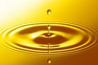 金色の水滴