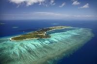 フィジー ママヌザ諸島 珊瑚礁