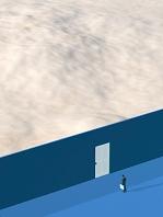 扉の向こうに砂漠