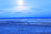 北海道 西日の釧路湿原