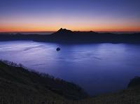 北海道 弟子屈町 摩周湖の朝