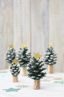 クリスマスツリーのハンドクラフト