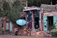 モロッコ トウフレットの山岳地帯
