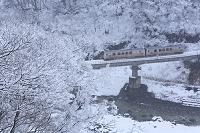 新潟県 雪の大糸線