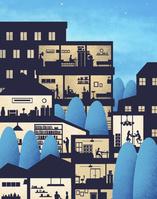街の家での暮らし
