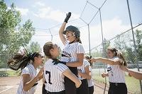 女子ソフトボールチーム