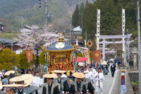 岐阜県 古川祭 神輿行列