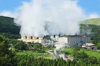 大分県九重町八丁原発電所
