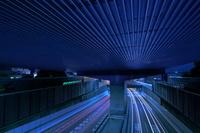 埼玉県 アンダーパスの夜景