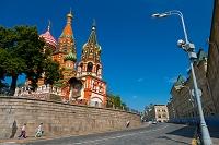モスクワ 聖ワシリイ大聖堂(ボクロフスキー聖堂)