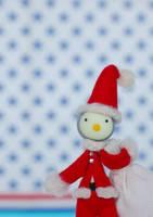 サンタのクリスマスクラフト