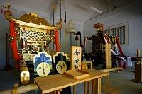 滋賀県 多賀大社神楽庫の御神輿