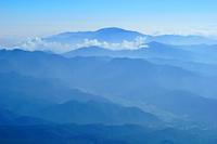 長野県 御嶽山九合目付近からの山並み