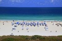 アメリカ合衆国 マイアミビーチ 白浜ビーチ 海水浴場