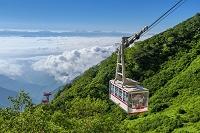 長野県 駒ヶ岳ロープウェイと南アルプス