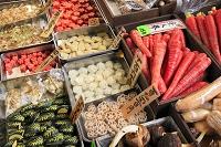 京都府 錦市場の食材