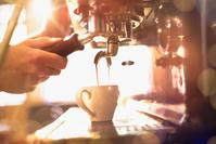 カフェの人々