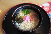 長崎県 名物の五島うどん(ご当地料理)