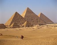 エジプト・ギザ 三大ピラミッド