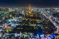 東京六本木ヒルズからの夜景
