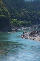 和歌山県 北山川観光筏下り