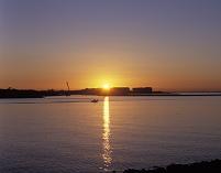 千葉県 舞浜の日の出