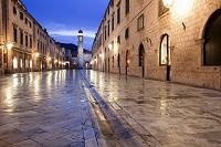 クロアチア ドブロヴニクの街並み