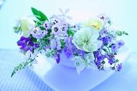 草花のフラワーアレンジメント