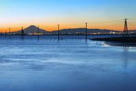 千葉県 江川海岸 夕日