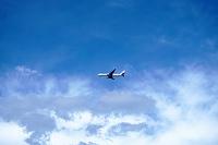 飛行機 着陸態勢