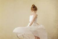 白いドレス 女の子