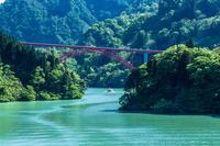 富山県 新緑の庄川