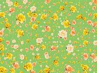 浮遊する無数のバラの花