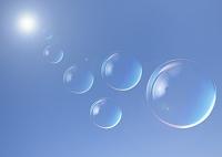 青空と球体
