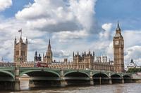イギリス ロンドン ビッグベンとウェストミンスター宮殿