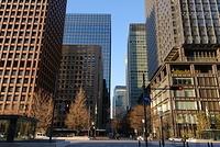 丸の内の高層ビル街