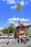 京都府 祇園祭(後祭山鉾巡行) 北観音山の辻回し